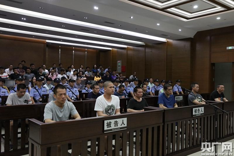 广州法院集中宣判37宗毒品犯罪案件 3名毒犯被判处死刑