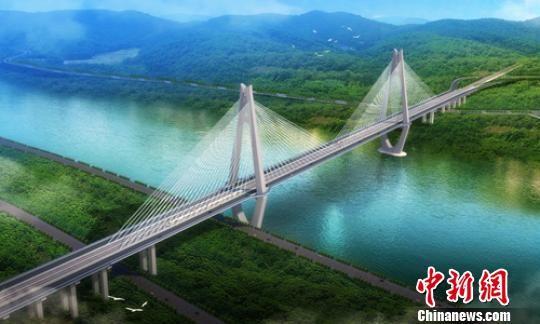 宜宾:高铁和公路同层合建斜拉长江大桥水下工程完成