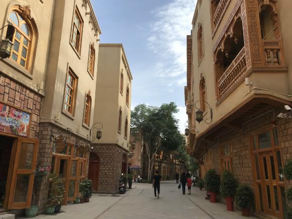 新疆是个好地方丨和田团城,留住乡愁面向未来越发美丽