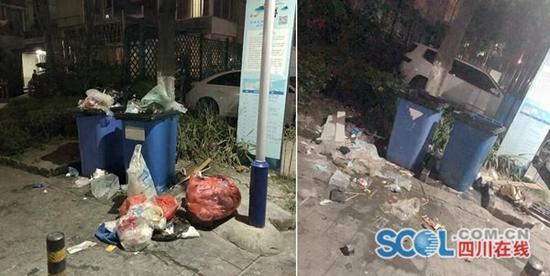 成都一小区垃圾成患散发恶臭 官方:已责成加强管理
