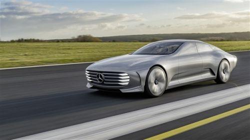 Model S劲敌!奔驰EQS谍照曝光:2020年上市