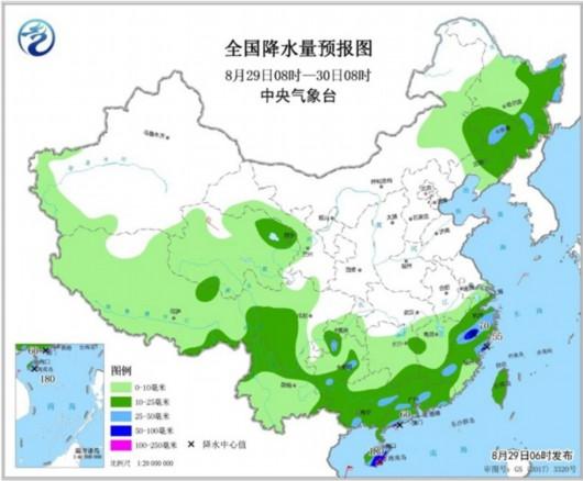 """台风""""杨柳""""携风带雨影响我国 南方暑热消退"""