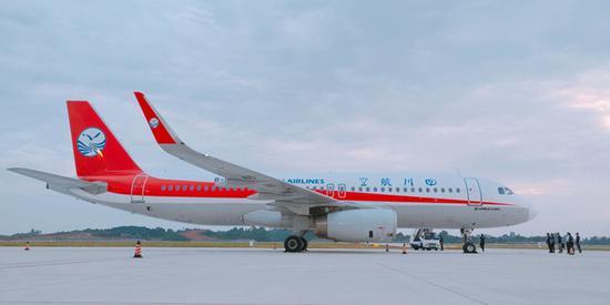 即将通航!宜宾五粮液机场试飞成功