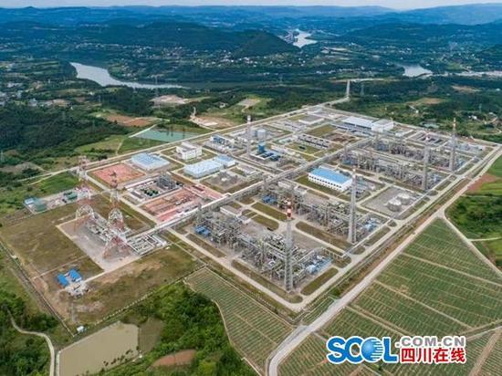 中国石化元坝气田投产5年 累产天然气160亿立方米